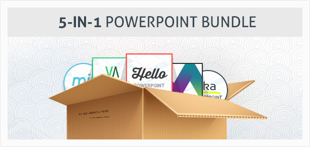 5-in-1 Keynote Presentation Bundle