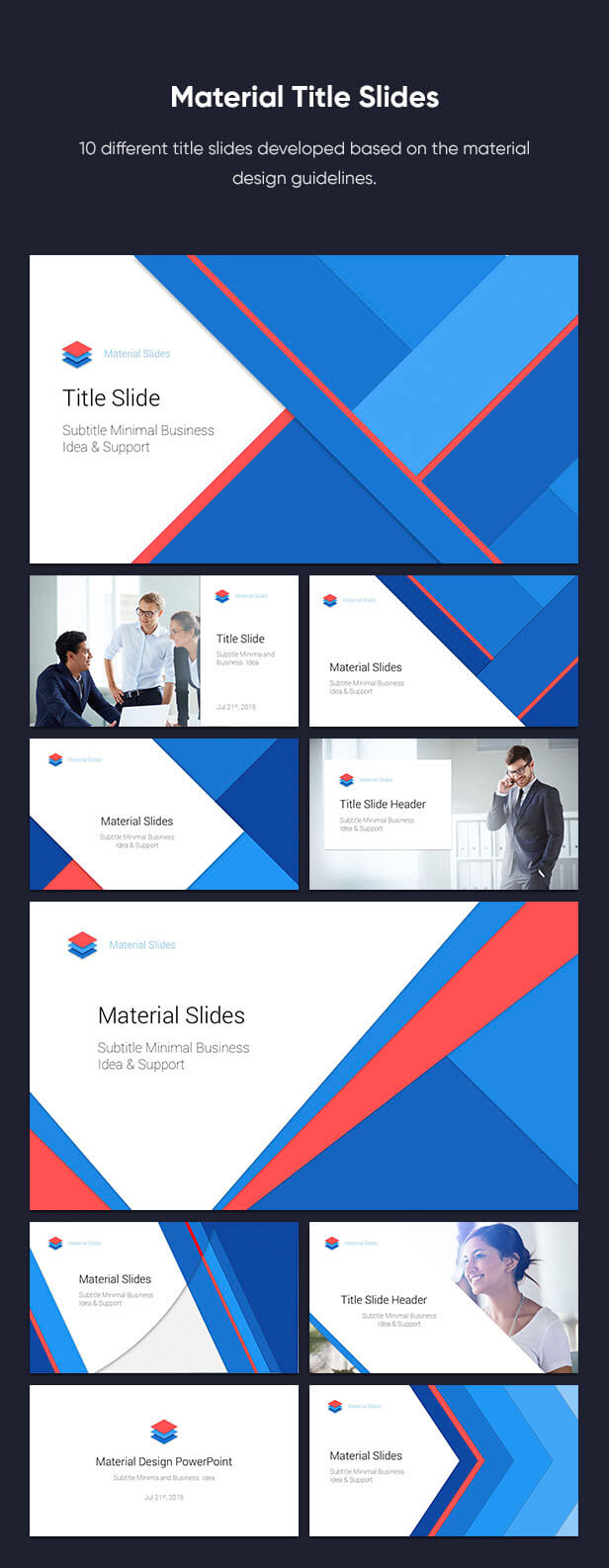 Material PowerPoint Presentation Template - 5