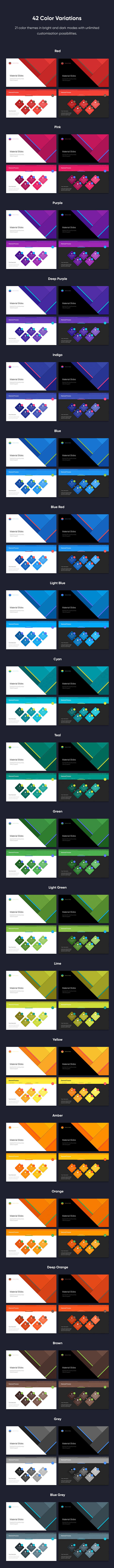 Material PowerPoint Presentation Template - 7