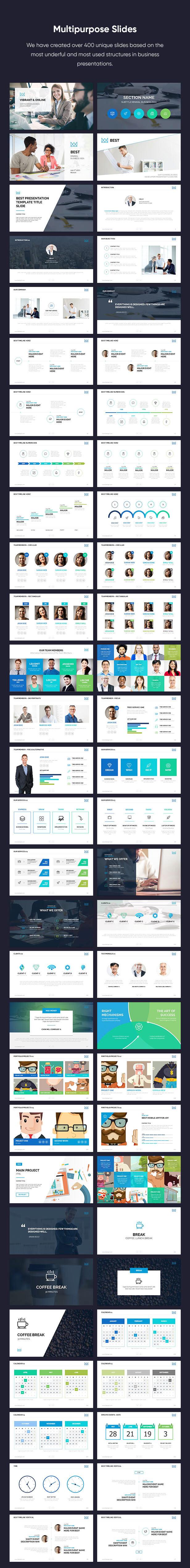 Business Keynote Presentation Template - 5
